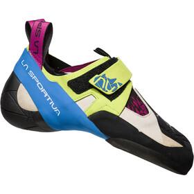La Sportiva Skwama Climbing Shoes Damen apple green/cobalt blue